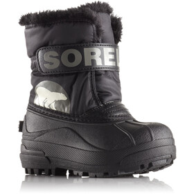 Sorel Snow Commander Boots Children Black/Charcoal